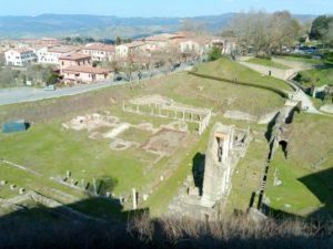 Le parc archéologique et le théâtre romain