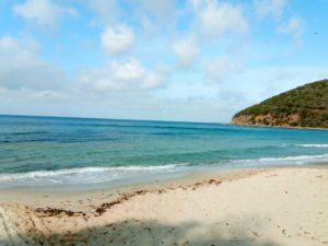 bord de plage vers la Punta Ala