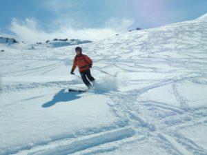 poudre super agréable à skier