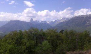Mont Aiguille, Rochers du Parquet et Grand Veymont